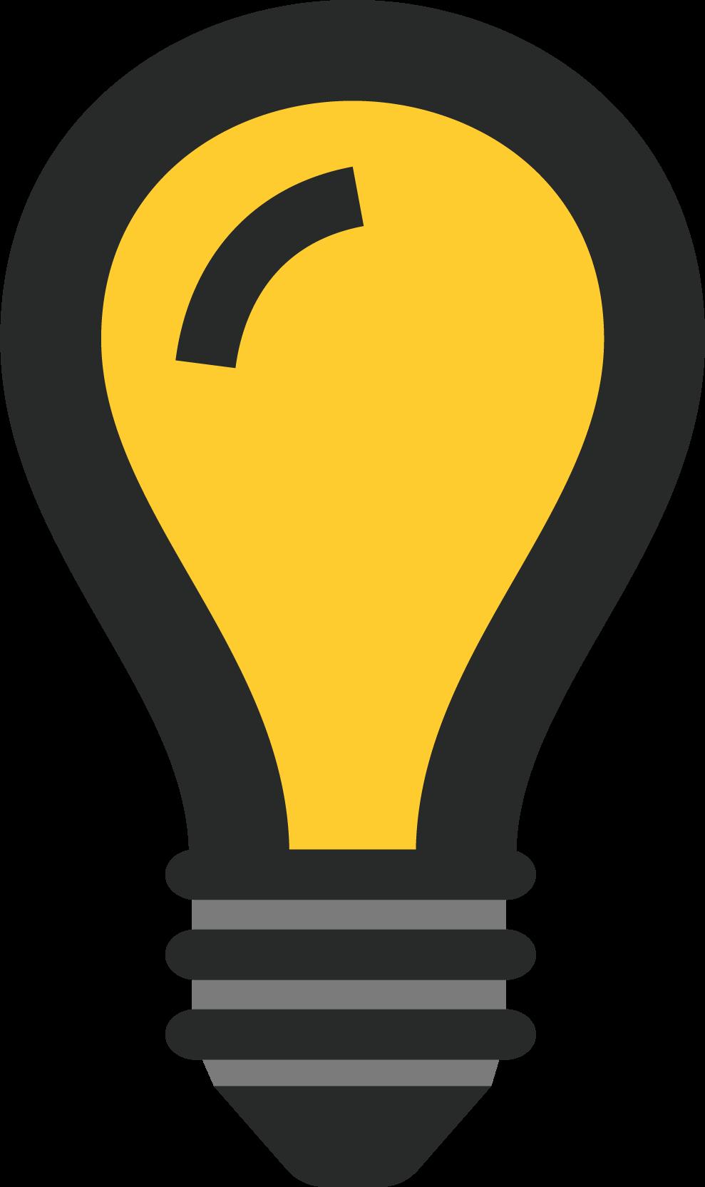 Graphic of a lightbulb